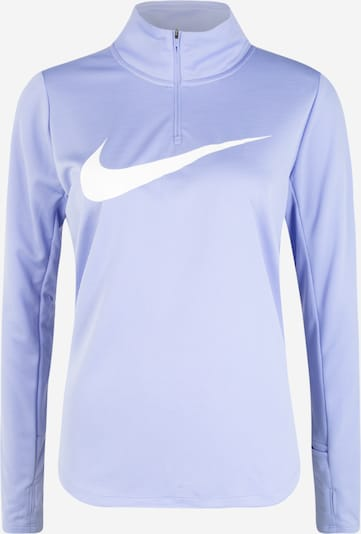 NIKE Sweatshirt in lila / weiß, Produktansicht