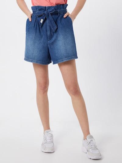 Herrlicher Jeansshorts 'Comfy' in blau, Modelansicht
