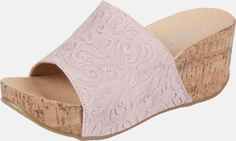 ANDREA CONTI | Pantolette mit Prägung Prägung mit Schuhe Gut getragene Schuhe aa7784