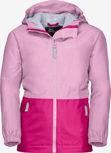 JACK WOLFSKIN Jacke in rosa / dunkelpink, Produktansicht