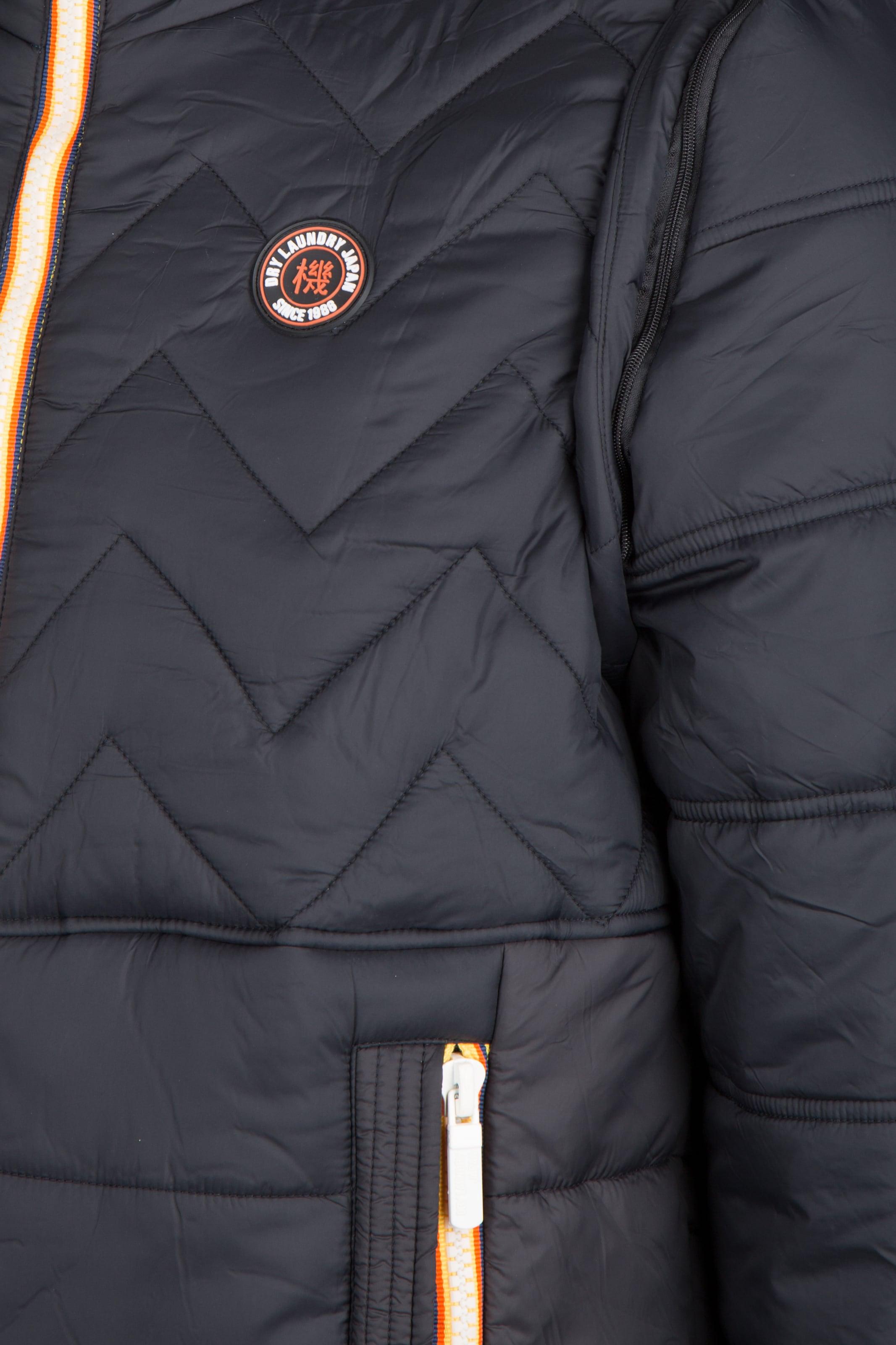 Bestes Geschäft Zu Bekommen Dry Laundry Jacke mit abnehmbaren Ärmeln Modisch Kaufen Zum Verkauf Austrittsstellen Online Outlet Beste Geschäft Zu Bekommen 1kwoF