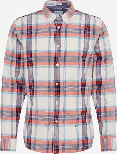 Pepe Jeans Overhemd 'AIDEN' in de kleur Beige / Blauw / Rood: Vooraanzicht