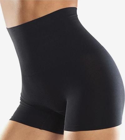 Pantaloni modelatori PETITE FLEUR pe nud / negru, Vizualizare produs