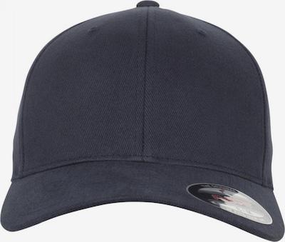 Flexfit Cap 'Brushed Twill' in navy, Produktansicht