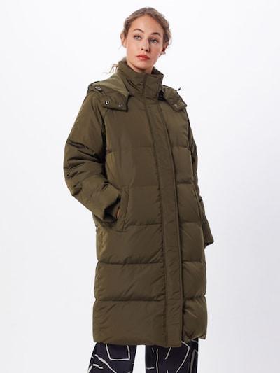 MOSS COPENHAGEN Manteau d'hiver 'Skylar' en vert, Vue avec modèle