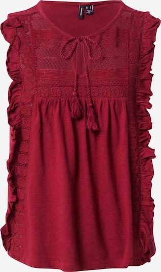 VERO MODA Shirt  'MASTA' in rot, Produktansicht