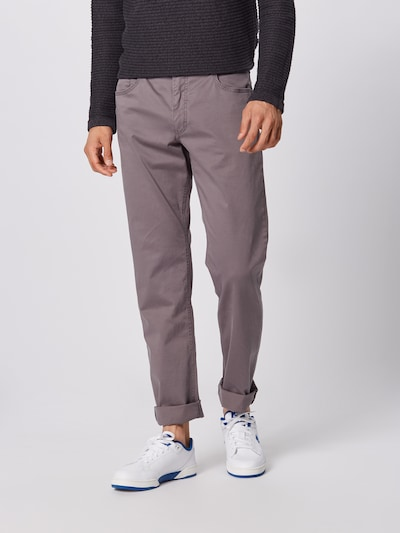 BRAX Jeans 'cooper fancy' in taupe, Modelansicht