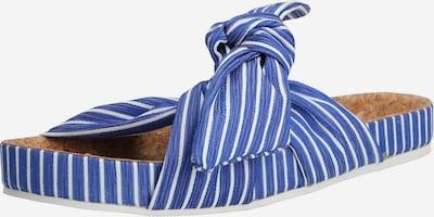SCOTCH & SODA Pantolette 'Yolin' in blau / weiß, Produktansicht