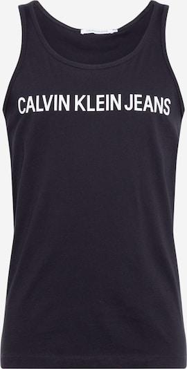 Calvin Klein Jeans Shirt 'Instititional' in de kleur Zwart / Wit, Productweergave