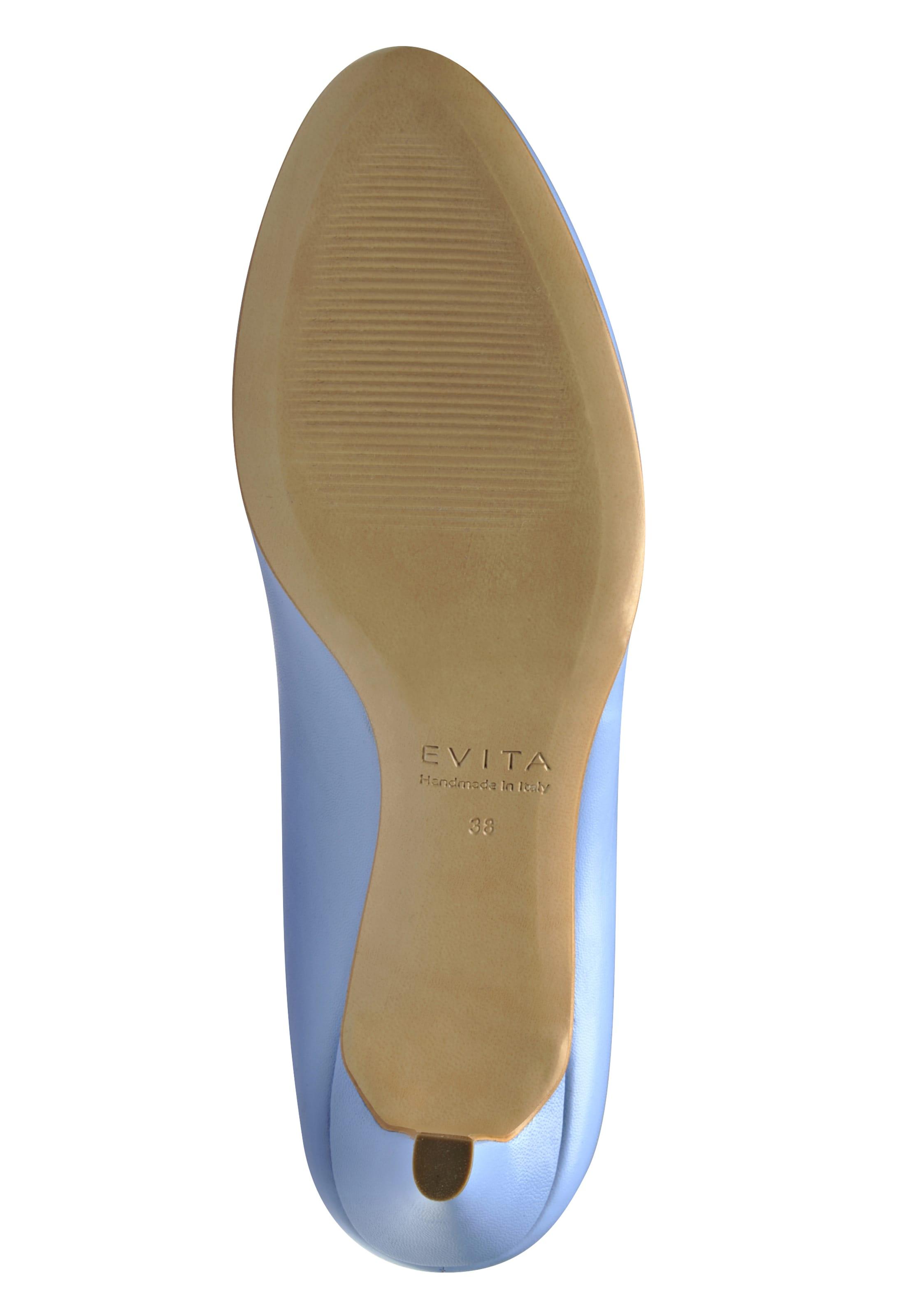 En Escarpins Clair Bleu Evita RLj345A