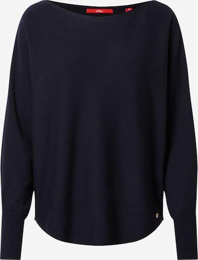 s.Oliver Pullover in dunkelblau, Produktansicht