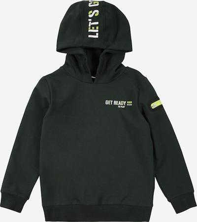 NAME IT Sweatshirt 'KARLO' in grün / tanne / weiß, Produktansicht