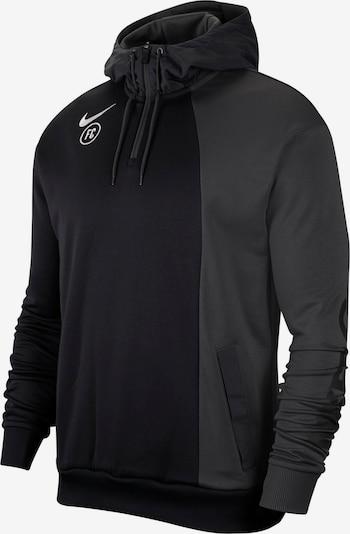 NIKE Hoodie 'Nike FC' in anthrazit / schwarz, Produktansicht