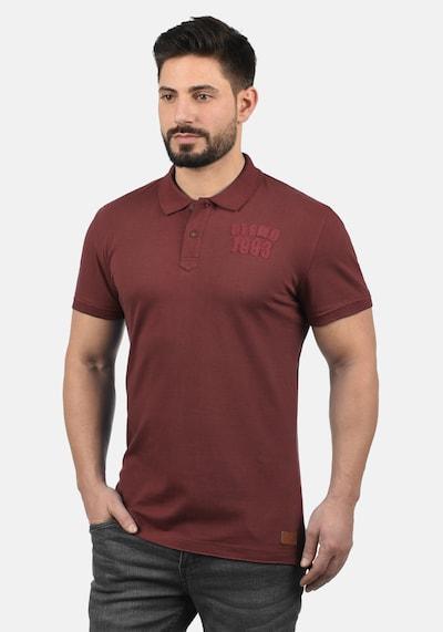 BLEND Poloshirt 'Tadeus' in dunkelrot: Frontalansicht