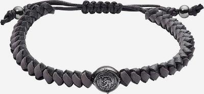 DIESEL Armband 'STACKABLES' in anthrazit, Produktansicht