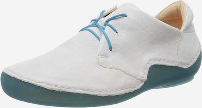 THINK! Schnürschuh in pastellblau / weiß, Produktansicht
