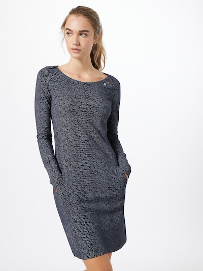 Ragwear Šaty 'River' - námořnická modř / bílá, Model/ka