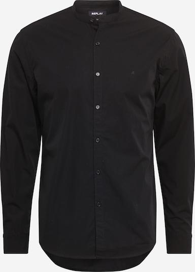 REPLAY Hemd in schwarz, Produktansicht