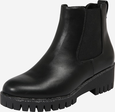ABOUT YOU Stiefelette 'Josefin' in schwarz: Frontalansicht