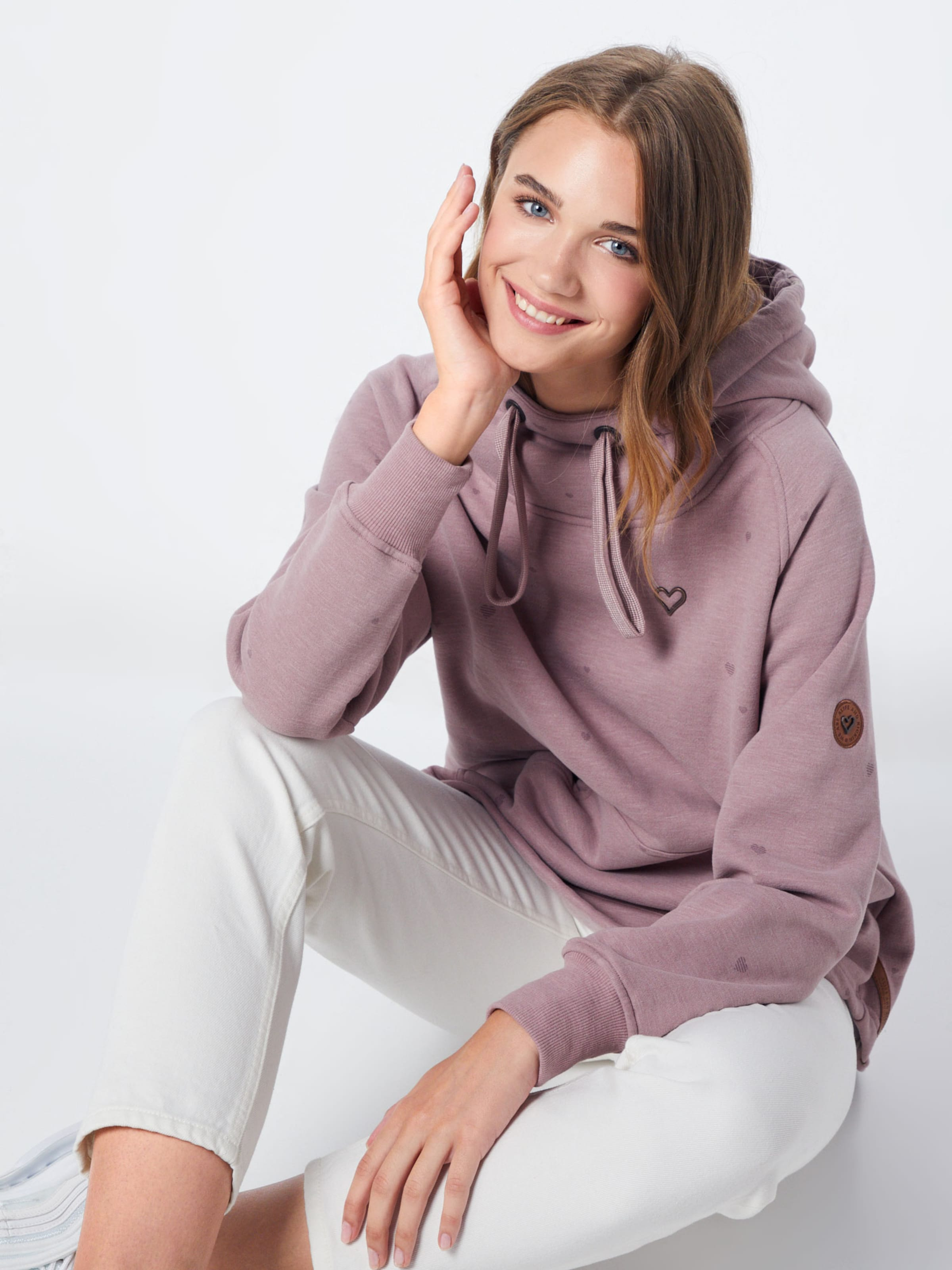 Kickin Sweatshirt 'mara' In Pastelllila And Alife Qthrds