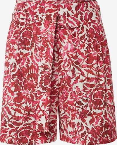 Weekend Max Mara Shorts 'PARANA' in rot / weiß, Produktansicht