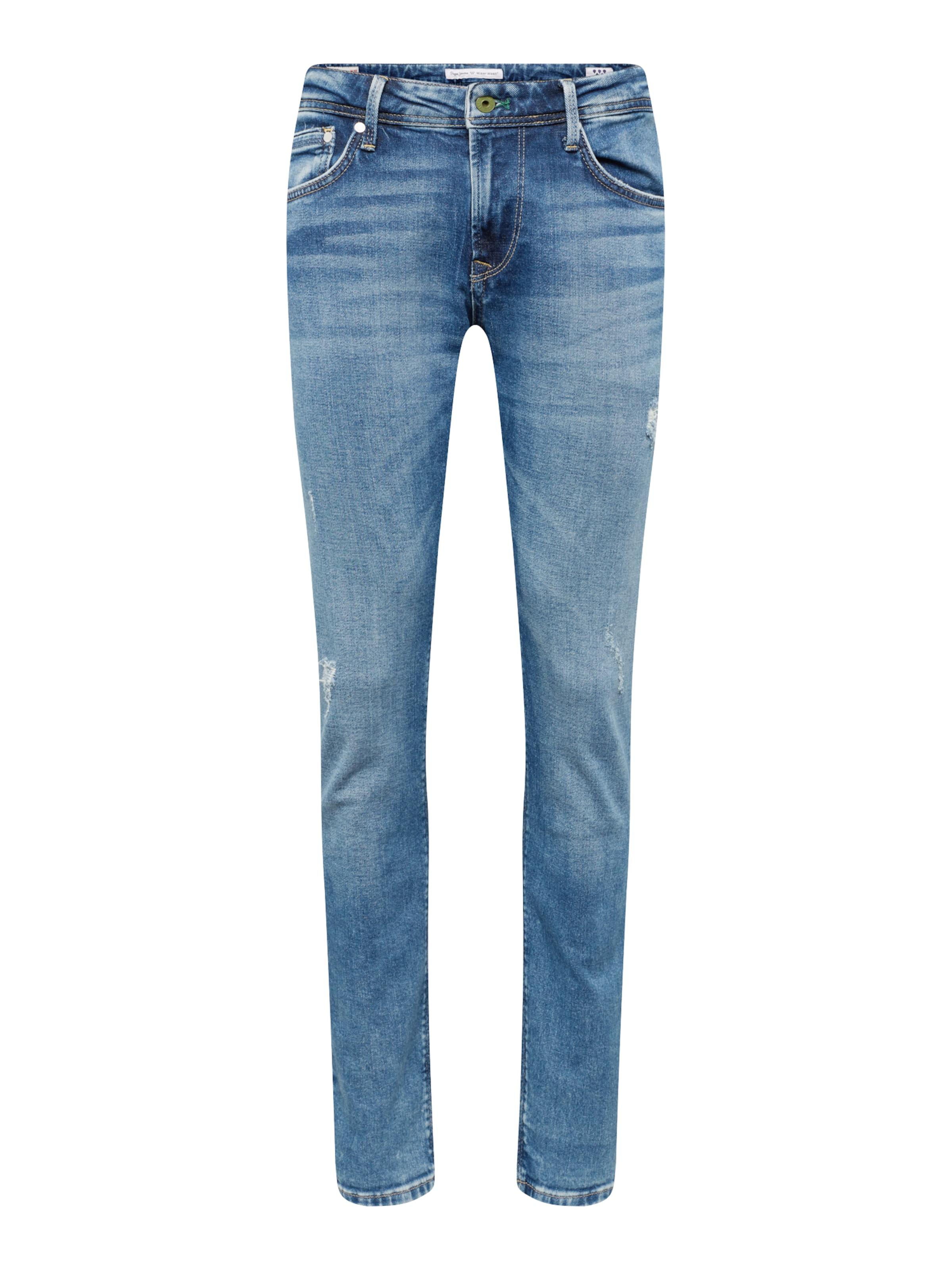 Pepe Jean Denim En Bleu Jeans 'stanley' c3FlKT1J