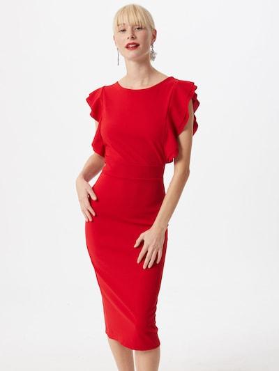 WAL G. Kleid in rot, Modelansicht