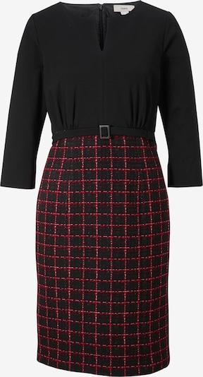 heine Kleid in blutrot / schwarz, Produktansicht