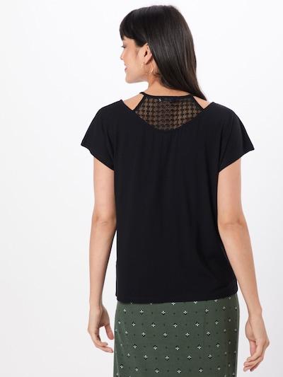 ABOUT YOU Koszulka 'Lieven' w kolorze czarnym: Widok od tyłu
