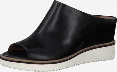 TAMARIS Pantolette in schwarz / weiß, Produktansicht