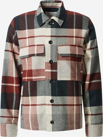 Samsoe Samsoe Prijelazna jakna 'Meli' u plava / svijetlosiva / crvena, Pregled proizvoda