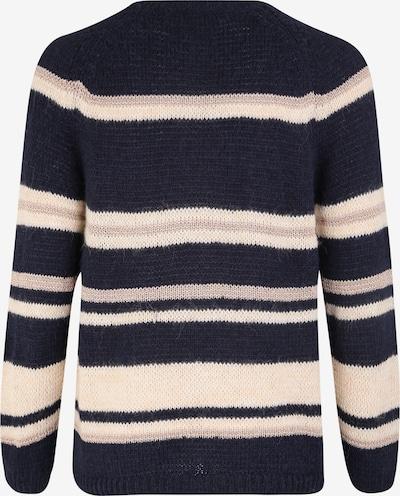 Megztinis 'SOFIE' iš ONLY Carmakoma , spalva - tamsiai mėlyna / rožių spalva: Vaizdas iš galinės pusės
