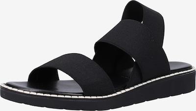 Rapisardi Pantoletten in schwarz, Produktansicht