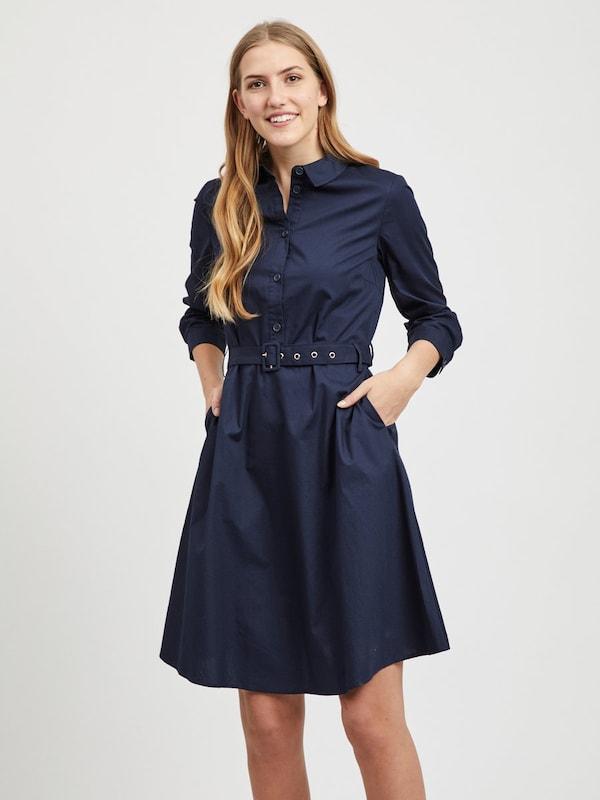VILA Kleid 'Vinyala' in dunkelblau    Großer Rabatt 76c8c6