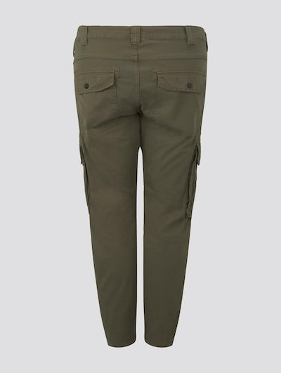 TOM TAILOR Men Plus Cargohose in khaki, Produktansicht