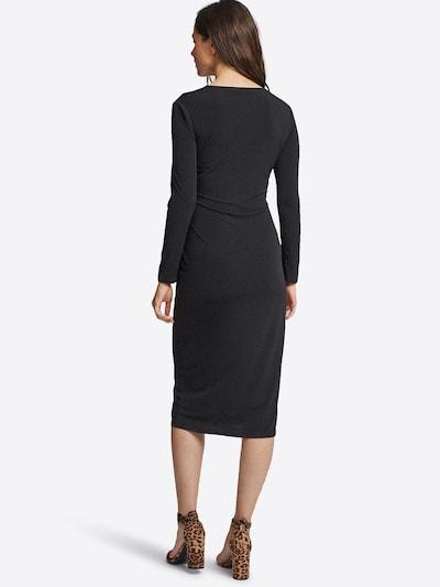 Kokteilinė suknelė 'BLK SUEDE PCKT SHIFT' iš Dorothy Perkins , spalva - juoda: Vaizdas iš galinės pusės