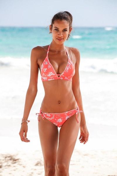 SUNSEEKER Bikinihose 'Ditsy' in mischfarben / orangerot, Modelansicht