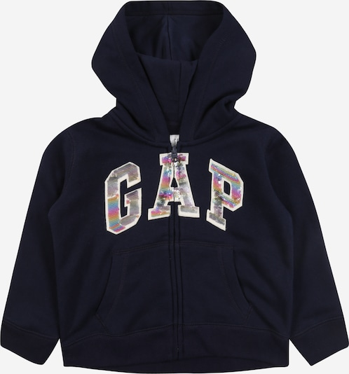 GAP Sweatjacke 'FLIPPY' in navy, Produktansicht