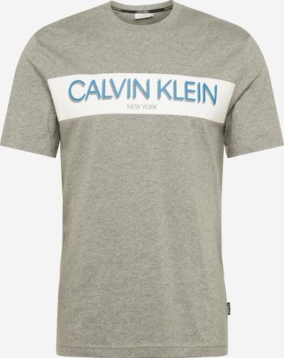 Tricou Calvin Klein pe gri, Vizualizare produs