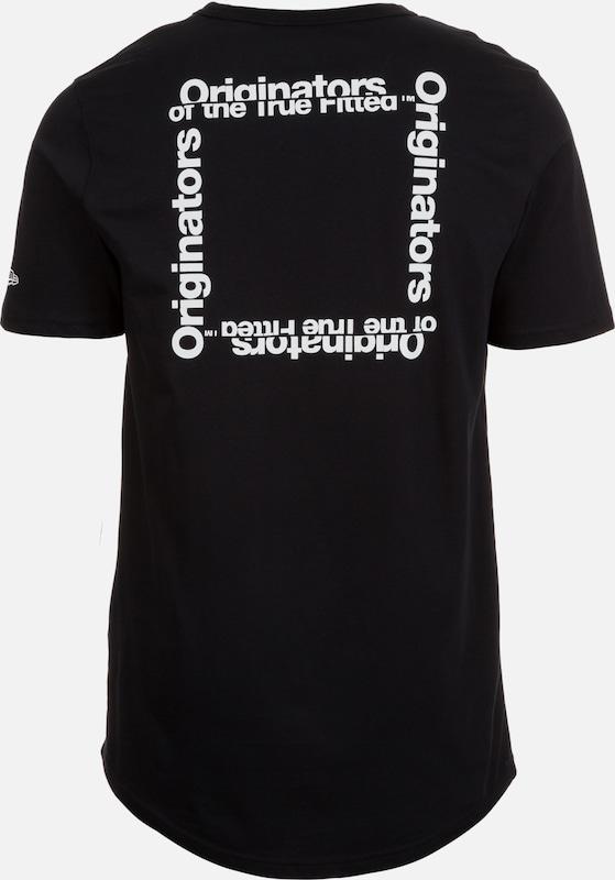 NEW ERA 'Originators Square Logo' T-Shirt Herren