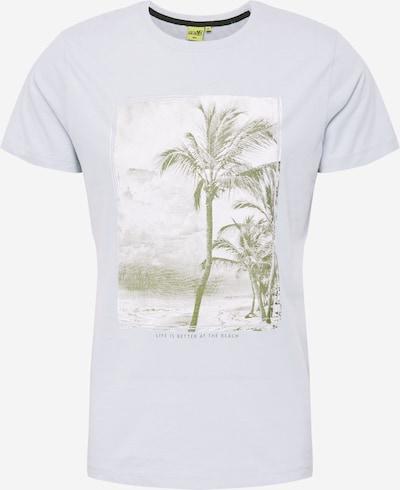 Hailys Men Shirt 'Mason' in de kleur Lichtblauw / Groen / Wit, Productweergave