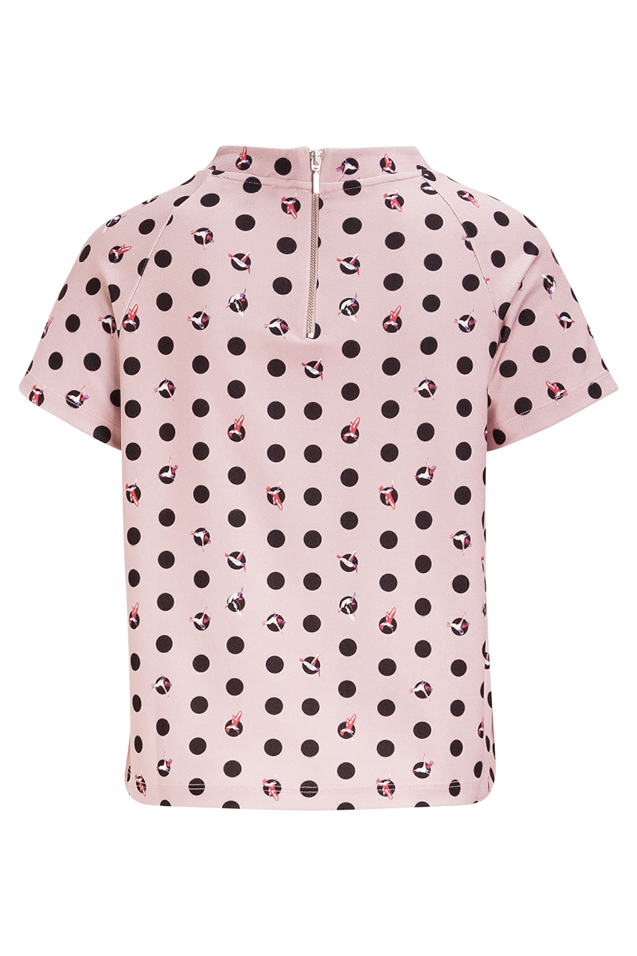 MORE & MORE Shirt, birdy dots Print