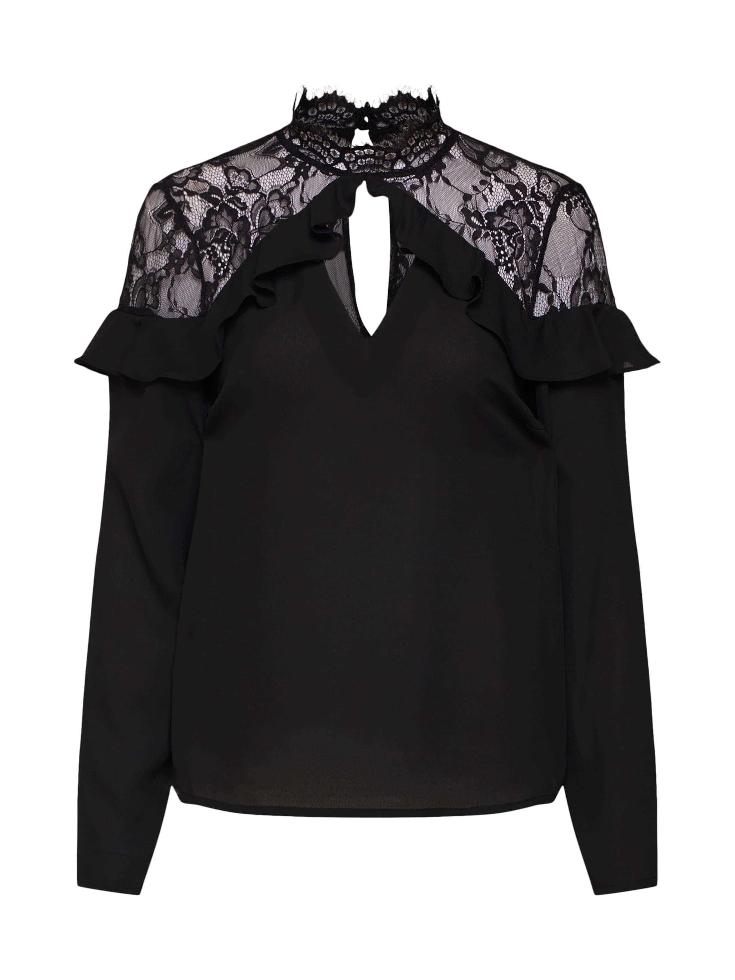 'basil' Schwarz Bluse Fashion Union In shQrdCxtB