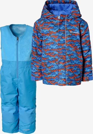 COLUMBIA Schneeanzug 'Buga' in blau / mischfarben: Frontalansicht