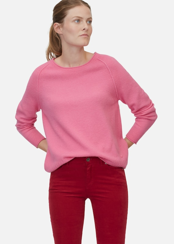 Marc O'Polo Pullover in rosa, Modelansicht