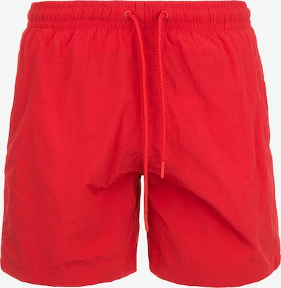 Urban Classics Badeshorts in rot, Produktansicht