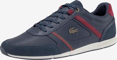 LACOSTE Sneaker 'Menewra 120' in dunkelblau / rot, Produktansicht