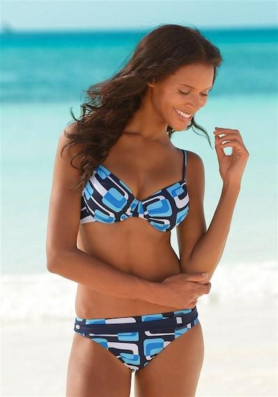 KangaROOS Bügel-Bikini in blau / weiß, Modelansicht
