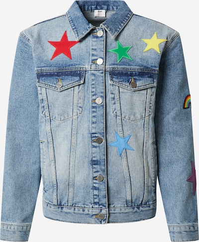 ABOUT YOU x Riccardo Simonetti Tussenjas 'Vincent' in de kleur Blauw denim, Productweergave