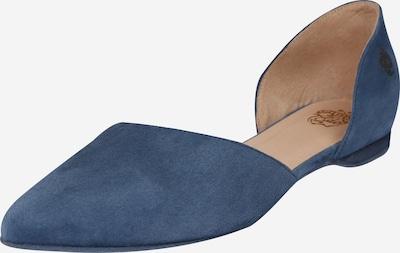 Apple of Eden Slipper 'BLONDIE' in blau, Produktansicht